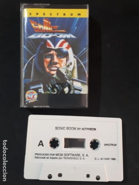 JUEGO PARA ORDENADOR SPECTRUM SONIC BOOM - MCM (Juguetes - Videojuegos y Consolas - Spectrum)