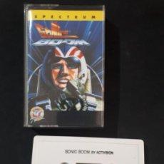 Videojuegos y Consolas: JUEGO PARA ORDENADOR SPECTRUM SONIC BOOM - MCM. Lote 164886814
