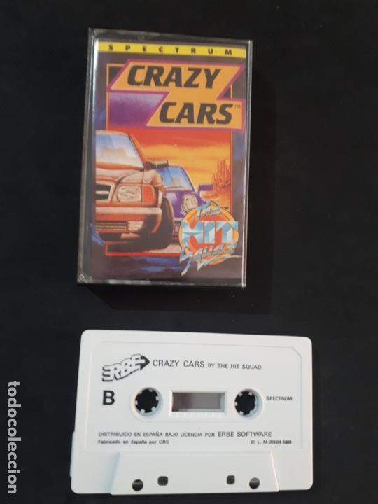 JUEGO PARA ORDENADOR SPECTRUM CRAZY CARS - ERBE (Juguetes - Videojuegos y Consolas - Spectrum)