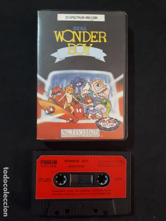 JUEGO PARA ORDENADOR SPECTRUM WONDER BOY (Juguetes - Videojuegos y Consolas - Spectrum)
