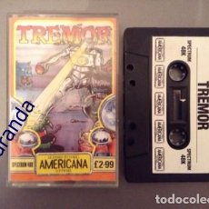 Videojuegos y Consolas: JUEGO SPECTRUM SINCLAIR ZX *TREMOR* 48K 128K PAL UK.. Lote 164929318