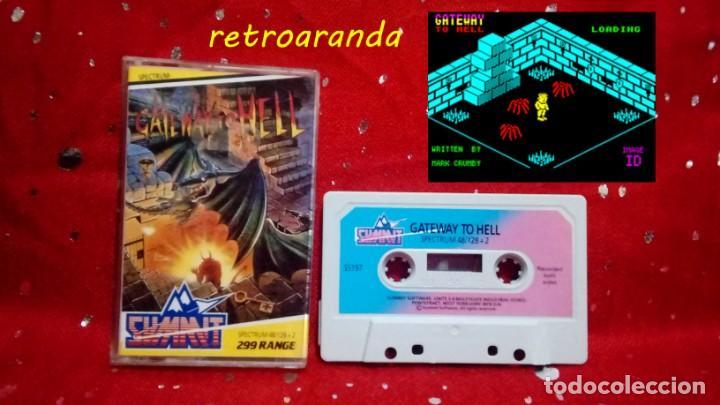 SPECTRUM SINCLAIR ZX *GATEWAY TO HELL* 48K 128K PAL UK. (Juguetes - Videojuegos y Consolas - Spectrum)