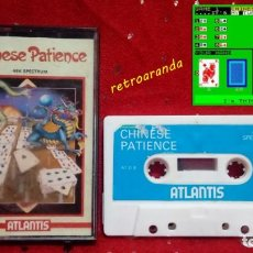 Videojuegos y Consolas: SPECTRUM SINCLAIR ZX *CHINESE PATIENCE* 48K 128K PAL UK.. Lote 165274274