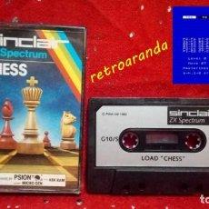 Videojuegos y Consolas: SPECTRUM SINCLAIR ZX *CHESS* 48K 128K PAL UK.. Lote 165274474