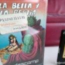 Videojuegos y Consolas: JUEGO PARA SPECTRUM INDESCOMP LA BELLA Y LA BESTIA . Lote 165485310