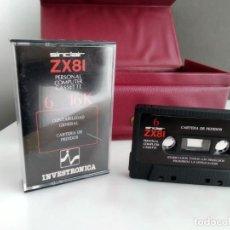 Videojuegos y Consolas: JUEGO PARA SPECTRUM INVESTRONICA ZX 81. Lote 165486058