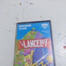 Videojuegos y Consolas: JUEGO CASETTE SPECTRUM SIR LANCELOT. Lote 179942621