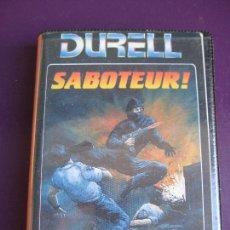 Videojuegos y Consolas: DURELL - SABOTEUR CASETE VIDEOJUEGO SPECTRUM - ERBE SOFTWARE - SIN ESTRENAR. Lote 182820938