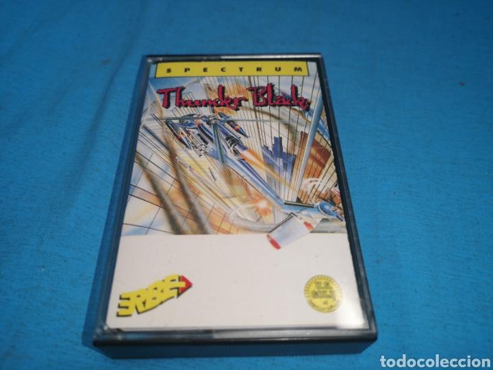 JUEGO SPECTRUM, THUNDERBLADE BY U. S. GOLD (Juguetes - Videojuegos y Consolas - Spectrum)
