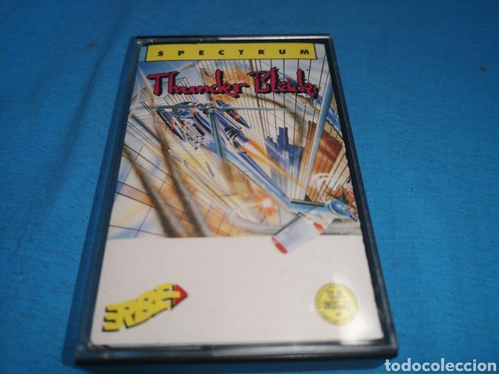 Videojuegos y Consolas: Juego spectrum, thunderblade by u. S. Gold - Foto 2 - 168154582
