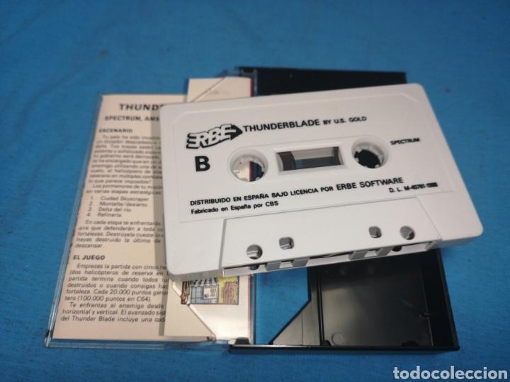 Videojuegos y Consolas: Juego spectrum, thunderblade by u. S. Gold - Foto 5 - 168154582