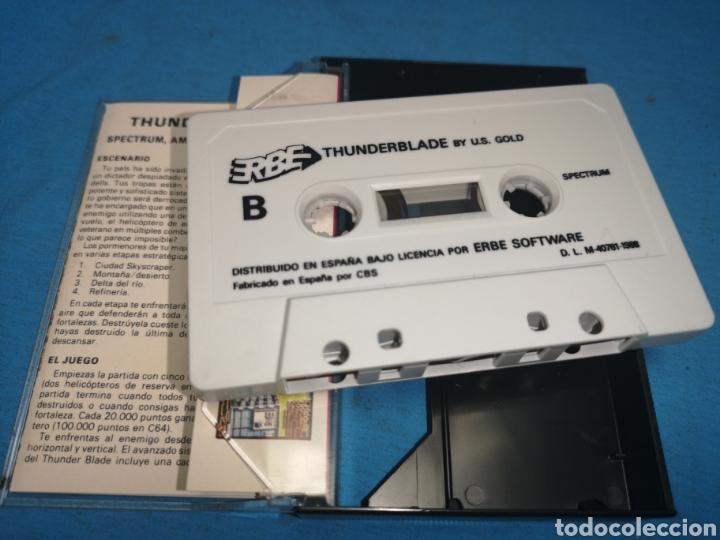 Videojuegos y Consolas: Juego spectrum, thunderblade by u. S. Gold - Foto 6 - 168154582