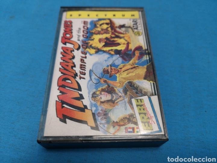 Videojuegos y Consolas: Juego spectrum, Indiana Jones and the temple of doom - Foto 2 - 168211480