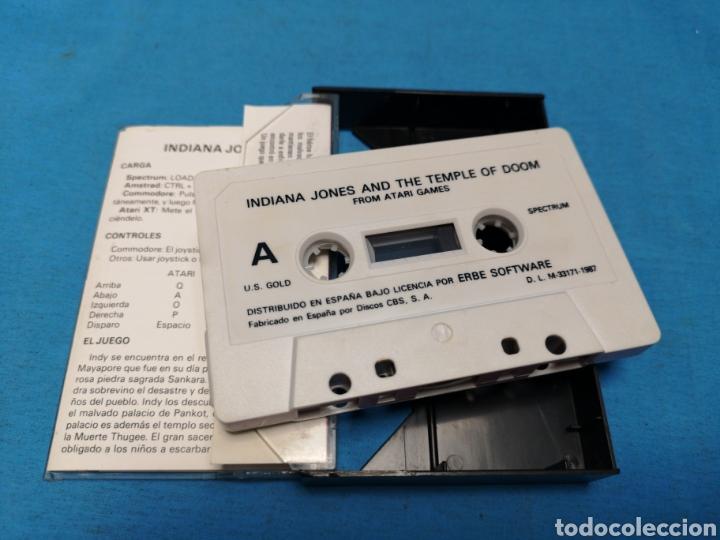 Videojuegos y Consolas: Juego spectrum, Indiana Jones and the temple of doom - Foto 5 - 168211480