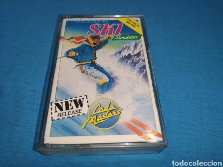 Videojuegos y Consolas: Juego spectrum, pro ski simulator - Foto 2 - 168214172