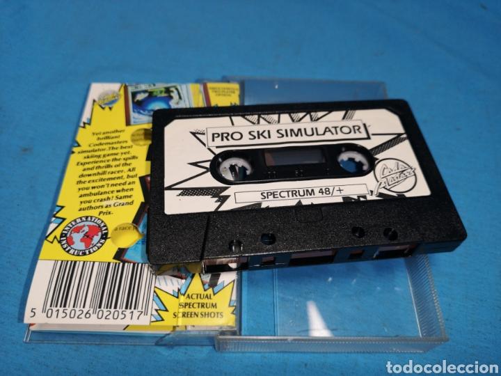 Videojuegos y Consolas: Juego spectrum, pro ski simulator - Foto 4 - 168214172