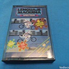 Videojuegos y Consolas: JUEGO SPECTRUM, LENGUAJE MÁQUINA, 6 JUEGOS. Lote 168290208