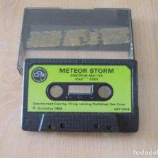 Videojuegos y Consolas: JUEGO SPECTRUM. METEOR STORM. QUICKSILVA. Lote 168366976