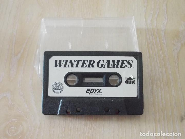 JUEGO SPECTRUM. WINTER GAMES. US GOLD / EPIX. (Juguetes - Videojuegos y Consolas - Spectrum)