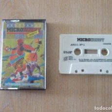 Videojuegos y Consolas: JUEGOS SPECTRUM. MICROHOBBY CASSETTE Nº 1. 1985. Lote 168374556