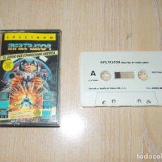 Videojuegos y Consolas: JUEGO SPECTRUM. INFILTRATOR. US GOLD / ERBE. LOMO ROSA. Lote 168382228