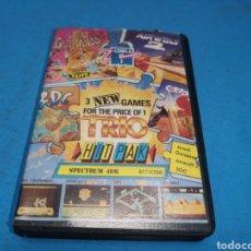 Videojuegos y Consolas: JUEGO SPECTRUM, TRÍO, GREAT GURIANOS, 3DC, AIRWOLF. Lote 168484541