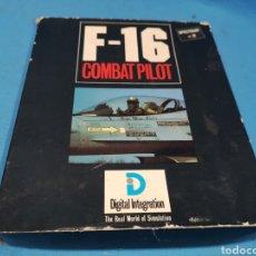 Videojuegos y Consolas: JUEGO SPECTRUM + 3, F-16 COMBAT PILOT, CON MANUAL. Lote 168545797