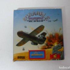 Videojuegos y Consolas: SCRAMBLE SPIRITS - SINCLAIR ZX SPECTRUM +3 - VIDEOJUEGO RETRO VINTAGE - DISCO. Lote 168758052