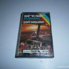 Videojuegos y Consolas: JUEGO DE SPECTRUM - FLIGHT SIMULATION - CAJA PEQUEÑA - PSION. Lote 169197464