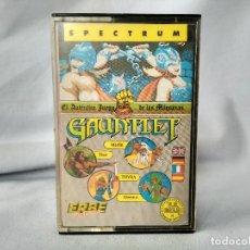 Videojuegos y Consolas: SPECTRUM 48K - GAUNTLET - ERBE SOFTWARE. Lote 169234968