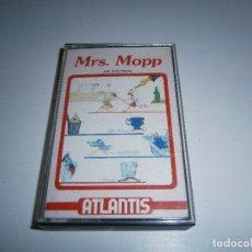 Videojuegos y Consolas: JUEGO DE SPECTRUM - MRS. MOPP - CAJA PEQUEÑA - ATLANTIS. Lote 169309964