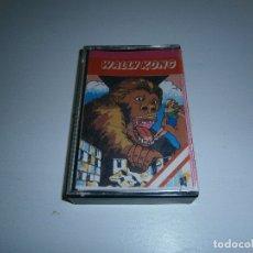 Videojuegos y Consolas: JUEGO DE SPECTRUM - WALLY KONG - CAJA PEQUEÑA - WALLTONE SOFTWARE. Lote 169311144