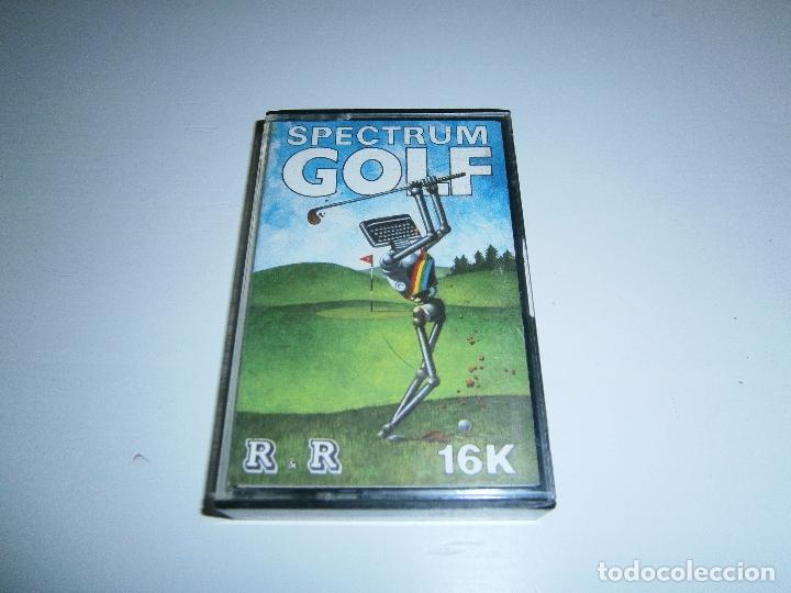 JUEGO DE SPECTRUM - SPECTRUM GOLF (16K) - CAJA PEQUEÑA - R&R SOFTWARE LTD (Juguetes - Videojuegos y Consolas - Spectrum)