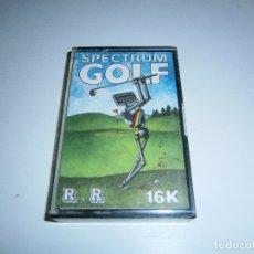 Videojuegos y Consolas: JUEGO DE SPECTRUM - SPECTRUM GOLF (16K) - CAJA PEQUEÑA - R&R SOFTWARE LTD. Lote 169311896