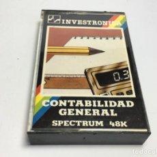 Videojuegos y Consolas: JUEGO SPECTRUM CONTABILIDAD GENERAL. Lote 170312368