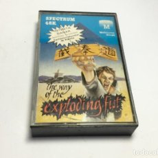 Videojuegos y Consolas: JUEGO SPECTRUM THE WAY OF THE EXPLODING FIST . Lote 170312616