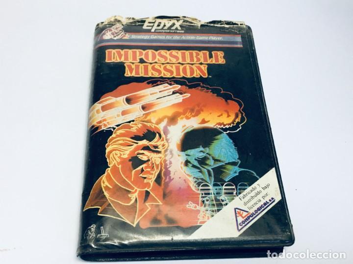 JUEGO SPECTRUM IMPOSSIBLE MISSION (Juguetes - Videojuegos y Consolas - Spectrum)