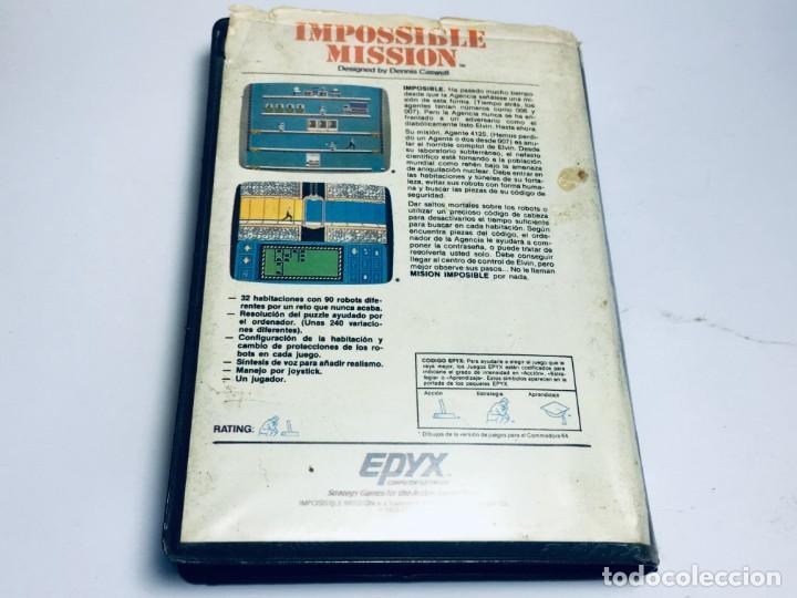 Videojuegos y Consolas: JUEGO SPECTRUM IMPOSSIBLE MISSION - Foto 3 - 170455944