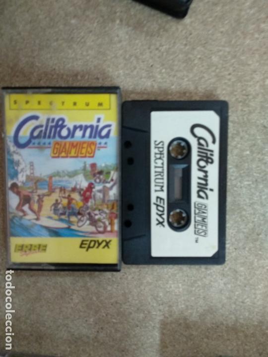 CALIFORNIA GAMES - ZX SPECTRUM (Juguetes - Videojuegos y Consolas - Spectrum)