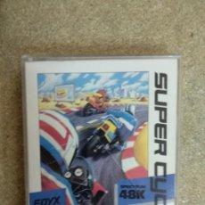 Videojuegos y Consolas: SUPER CYCLE - ZX SPECTRUM. Lote 171352769