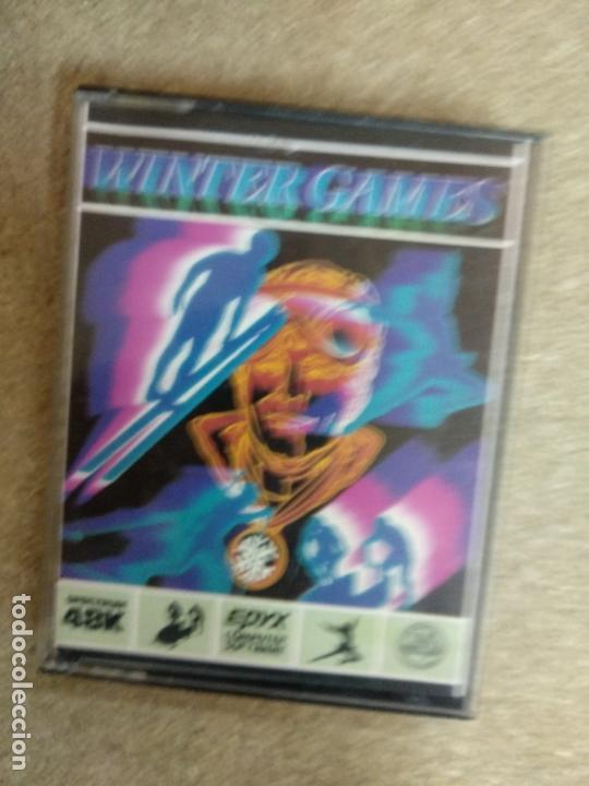 WINTER GAMES - ZX SPECTRUM (Juguetes - Videojuegos y Consolas - Spectrum)