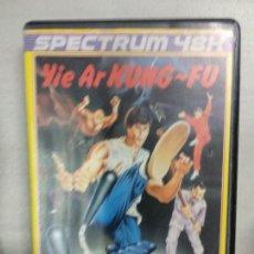 Videojuegos y Consolas: YIE AR KUNG FU - ZX SPECTRUM. Lote 171358618