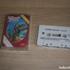 Videojuegos y Consolas: SPECTRUM JUEGO STUNT BIKE SIMULATOR DE SILVERBIRD VERSIÓN ESPAÑOLA DE CBS 1988 . Lote 171461929