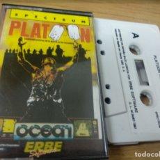 Videojuegos y Consolas: JUEGO ZX SPECTRUM Y COMPATIBLES - PLATOON. Lote 171732872