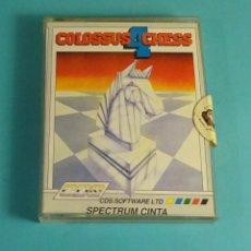 Videojuegos y Consolas: COLOSSUS 4 CHESS. SPECTRUM CINTA. CAJA E INSTRUCCIONES. Lote 172128642