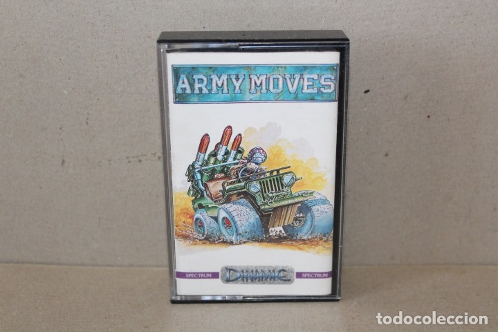 SPECTRUM. ARMY MOVES (DINAMIC) - SINCLAIR SPECTRUM. (Juguetes - Videojuegos y Consolas - Spectrum)