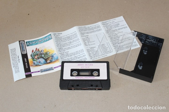 Videojuegos y Consolas: SPECTRUM. ARMY MOVES (DINAMIC) - SINCLAIR SPECTRUM. - Foto 2 - 172555524