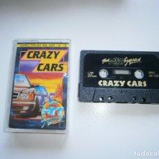 Videojuegos y Consolas: JUEGO DE SPECTRUM - CRAZY CARS - HIT SQUAD - CAJA PEQUEÑA. Lote 172872689