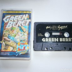Videojuegos y Consolas: JUEGO DE SPECTRUM - GREEN BERET - HIT SQUAD - CAJA PEQUEÑA. Lote 172872733
