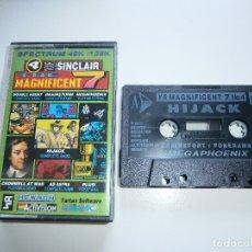 Videojuegos y Consolas: YOUR SINCLAIR SPECTRUM - MAGNIFICENT SEVEN - CINTA 4. Lote 172875204